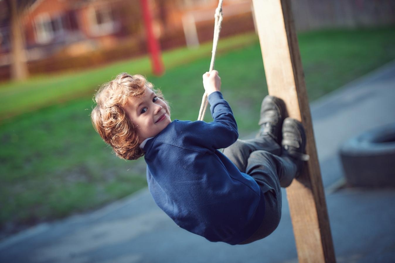 Towngate pupil climbing